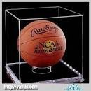 Basketball hook soccer ball display stand