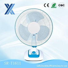 Household plastic small electric table fan supplier