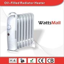 Desktop Oil Filled Radiator / Oil Filled Heater with Adjustable Thermostat