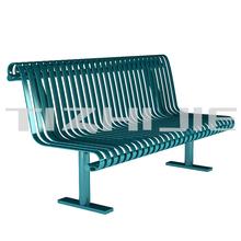 Unique Style No Folded Long Composite Cast Iron Garden Park Outdoor Bench