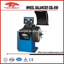 CBL-890 with Laser unit Self calibration Automatic gauge CE Wheel Balancer