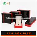 de calidad superior de moda personalizada de madera embalaje caja de joyería