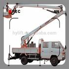 Hydraulic folding arm lift table / lift platform