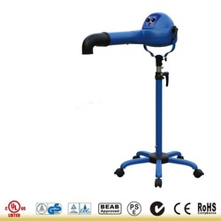 XPOWER 2000W Variable Speed Brushless DC Motor Stand Pet Dryer with Heater and Anion B-18