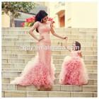 2015 fashion lilac flower girl dresses for wedding kid ball gown dresses for wedding fluffy floor length children dresses