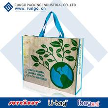OEM customized pp shopping bag/pp woven shopping bag/pp woven bag
