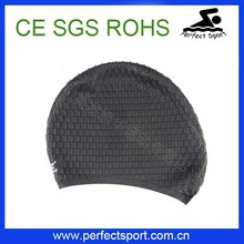 Perfect water drop silicone swim cap and swimming hats