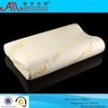 Saúde da espuma da memória travesseiro 100% onda PU forma neck pillow com buracos