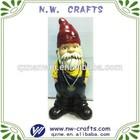 Handmade resin garden gnomes statue gift craft