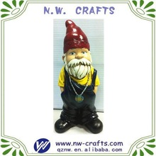 Handmade resin garden gnomes statue gift craft