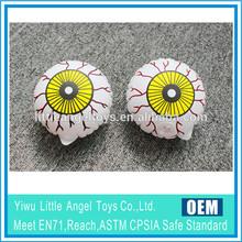 Pvc gonfiabile fantasma occhi a palla, inlatable tuute le esigenze, gonfiabile hallowmas giocattoli