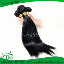Wholesale Silky Straight hair,100% remy virgin human hair extension, silky straight clip in human hair extension