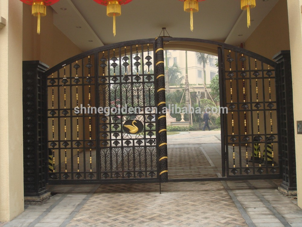 New Latest House Iron Factory Main Gate Designs Gyd