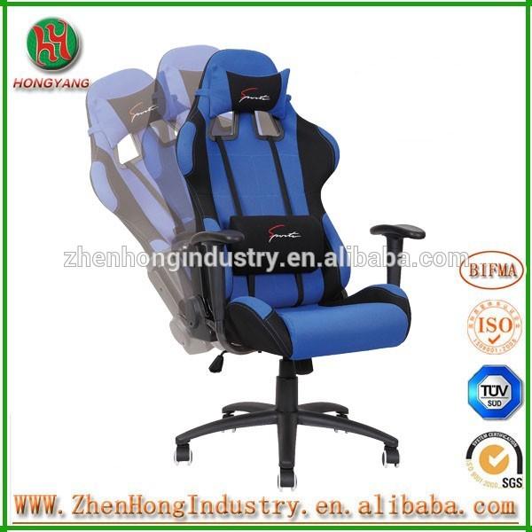 М . т. автомобиль стиль сиденья офисный стул ткань офисные кресла автомобиля стиль