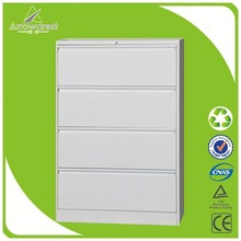 Environmental 4 layers office steel filing cabinet storage