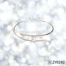 Unique pearl friendship bangles bracelets,Gold plated bangles latest designs