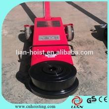 Air hydraulic jack for car