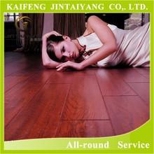 cheap wood floor/ waterproof import export laminate flooring