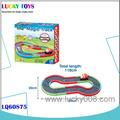 Novos produtos! Cartoon b/s slot carro ferroviário parque com luz e música kids brinquedos eletrônicos de estacionamento carro de brinquedo