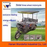 solar power motorcycle