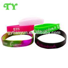free taste writing silicone wristband promotional activity