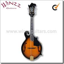 F estilo tapa de abeto maciza instrumento mandolina ( AM10S )