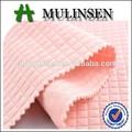 textil mulinsen multi para hacer punto de color 150d dty poliéster jacquard tela de verificación