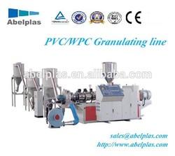 yields 200kg/h waste plastic PVC recycling/granulating machine