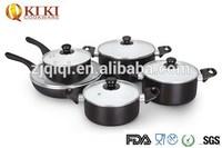 Non-stick Aluminium Pan with ceramic coating 10pcs Cookware Set