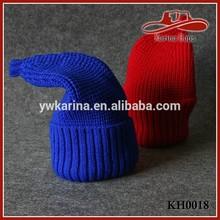 Winter Girls Ladies Stretchy Knit Pointy Top Beanie Skull Ski Snow Hat