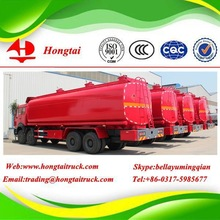 32000 liter Hongtai Steel fuel tank truck and trailer