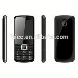 Dual SIM Card Bar Phone SC6531 Chipset China Mobile Phone Green Mobile phone roller