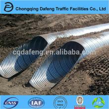 2.0m inner diameter Galvanized corrugated steel tube