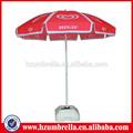 Playa de buena calidad paraguas proceso de fabricación
