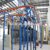 spray pretreatment powder coating line for sale