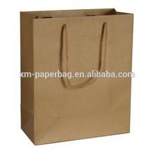 bolsa de papel kraft/retail kraft paper shopping bag