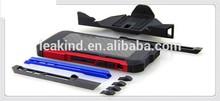 Aluminum+Carbon fiber backplate shockproof case for iphone5/5S