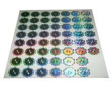 2d/3d Hologram Laser Stickers/label