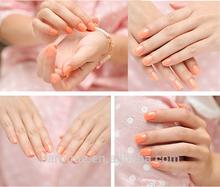Luminous organic natural beauty nail