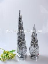 Professional Factory wholesale popular lighting hand blown glass christmas tree