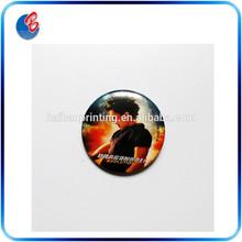 Tinplate badge clip safety pin souvenir