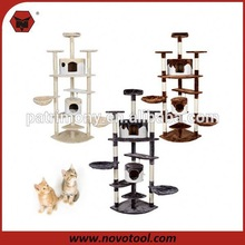 top quality wooden cat tree