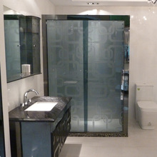 Universal beautiful shower house with seat