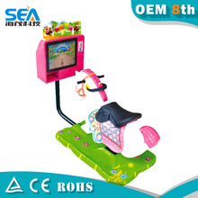 2015 high quality 17 inch monitor horse riding simulator for sale