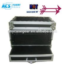 easy to transport custom 6U RACK CASE/Mixer case amp Rack CASE/dj flight case from ACS company