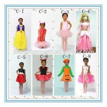 2015 New kids party princess fancy dress costumes PLCC-1500