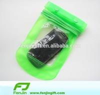 custom pvc cell phone waterproof bag