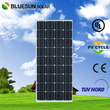 Home use BlueSun high efficiency monocrystalline solar panel 150w