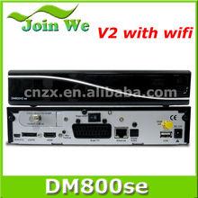 satellite receiver dm800se v2 wifi sim 220 card linux enigma2 os sunray & dm 800 hd se v2 wifi rev E motherboard clone China