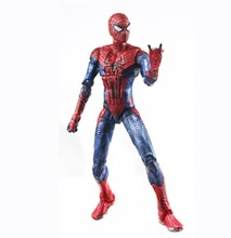 Plastic spider man figure toys, PVC figure toys, custom marvel action figures spider man